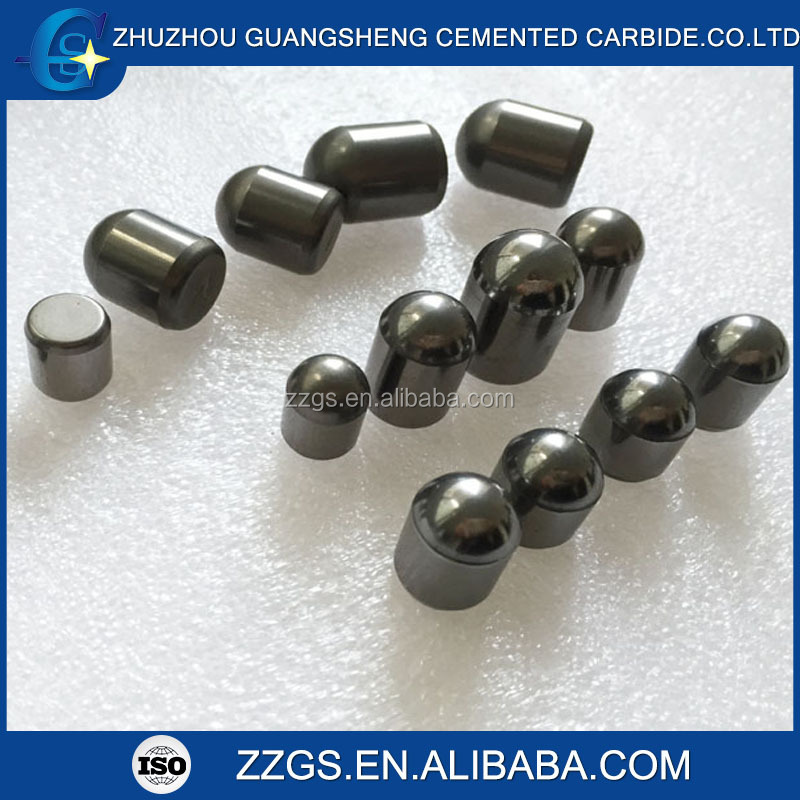100% Raw material tungsten carbide buttons with longer tool life