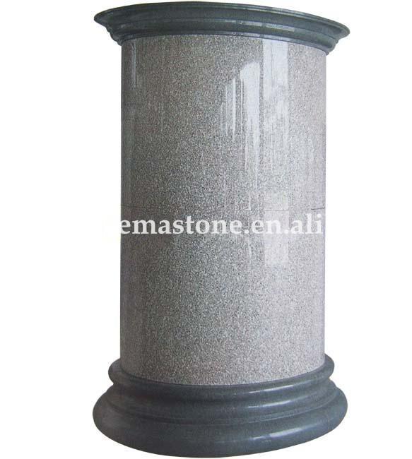 Indoor and outdoor decorative pillars granite columns for Indoor decorative pillars