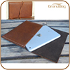 Chian Luxury Vintage Handmade Mini genuine Leather Case for ipad with strap