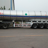 3 Axle Cryogenic Liquid CO2 Argon