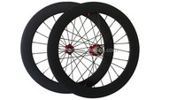"chinese cheap facotry carbon wheels 20"" bmx bike rims 451mm complete wheels customized aero spoke wheels 50mm clincher rim"