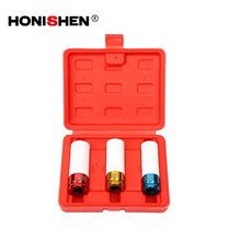 DGIT01 3pcs Wheel Nut Impact Socket Set Tire Repair Tool Pack