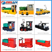 China supplier Nice looking battery locomotives