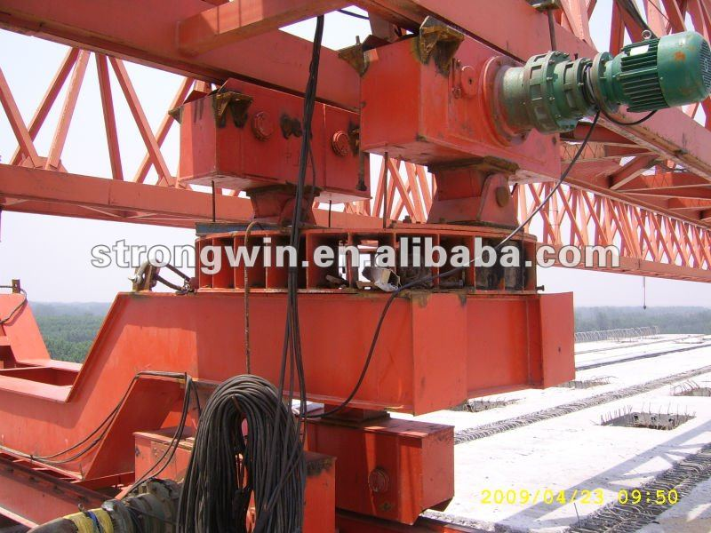 from crane hometown 100t bridge trussed launching girder
