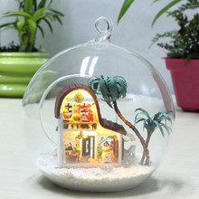 Best toys for 2015 christmas gift,open glass ball