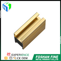 Best selling products powder coating aluminum frame glass door parts