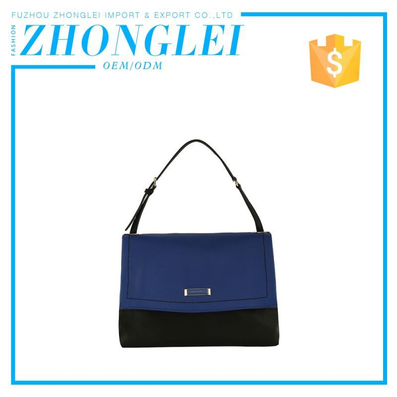 Price Cutting Customized Shape Zipper No Brand Italian Leather Handbags