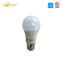 UL Energy Star dimmable A19 LED Light Bulb 9w