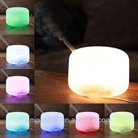 2017 USB mini aroma diffuser humidifier for Air Aroma Freshener humidifier with 7 color changing LED light
