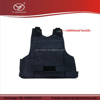 Molle system PE Polyethylene bulletproof vest placa with trauma pad