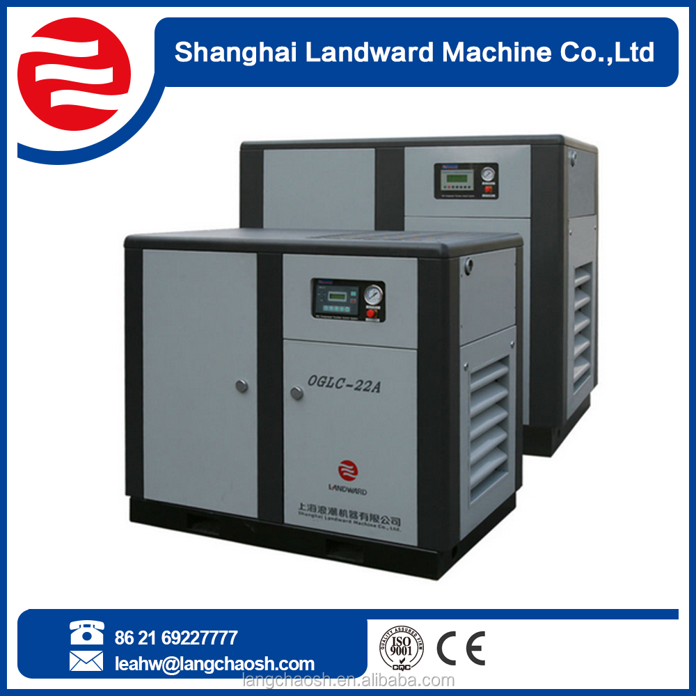 price of 3-355KW electric motor drive screw air compressor