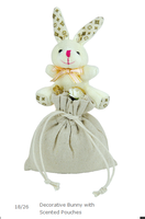 Decorative Bunny with Scented Pouches