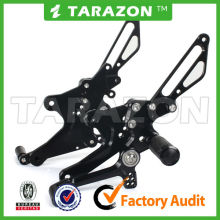 TARAZON brand new design 6061 T6 alloy adjustable rearsets for GSXR 750
