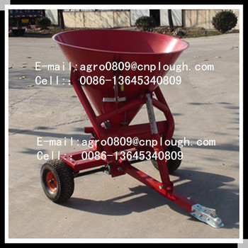 agricultural atv fertiliser spreader steel fertilizer spreader