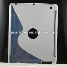 S-line cellphone case for apple new i pad (ipad3)