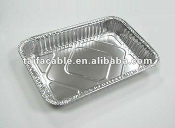 aluminium containers for food packing and storage