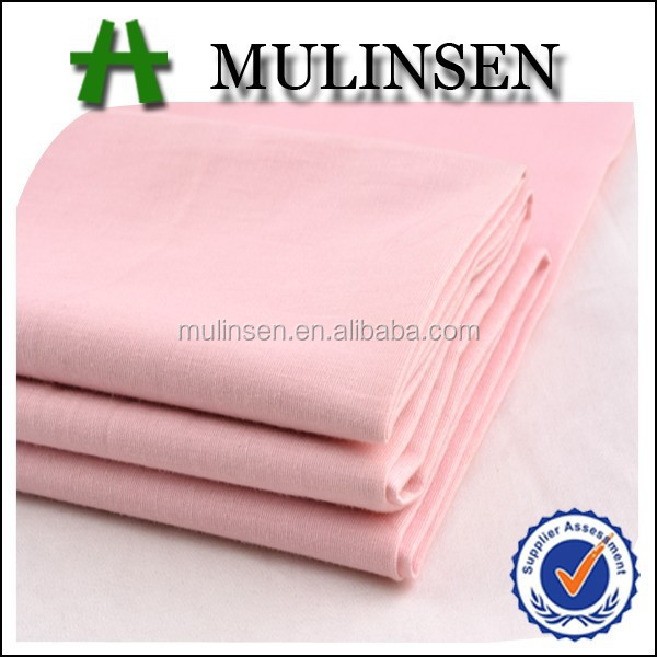 Shaoxing Mulinsen manufacture textile stretch poplin dyed t-shirt fabric for cotton