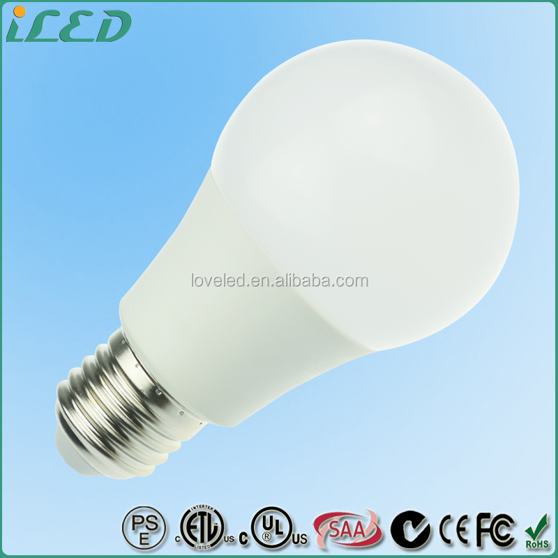 9W 120V 750 Lumen 4000K Dimmable E27 SMD LED Globe Light Fitting