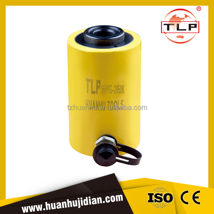 700 Bar hydraulic Hollow Plunger Cylinder Tools, jacks HHYG-2050K
