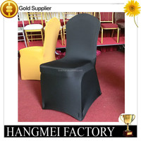 factory price beautiful black spandex chair cover