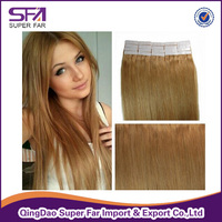 Cheap Brazilian Tape Hair Extensions Skin Weft/PU Human Hair Tape Extensions