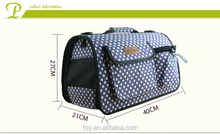 Special and good quality blue tote pet travel carrier