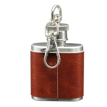 Stylish Portable Latest New Designed 1oz Mini Stainless Steel Hip Flask