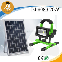 10W led solar camping light with usb for emergency, camping and car fixing with CE, ROHS, TUV certificate DJ-6080 20w