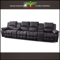 Supply Leather Recliner Sofa Home Theater