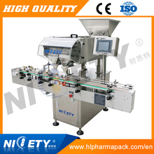 Automatic candy counting and filling packaging line machine
