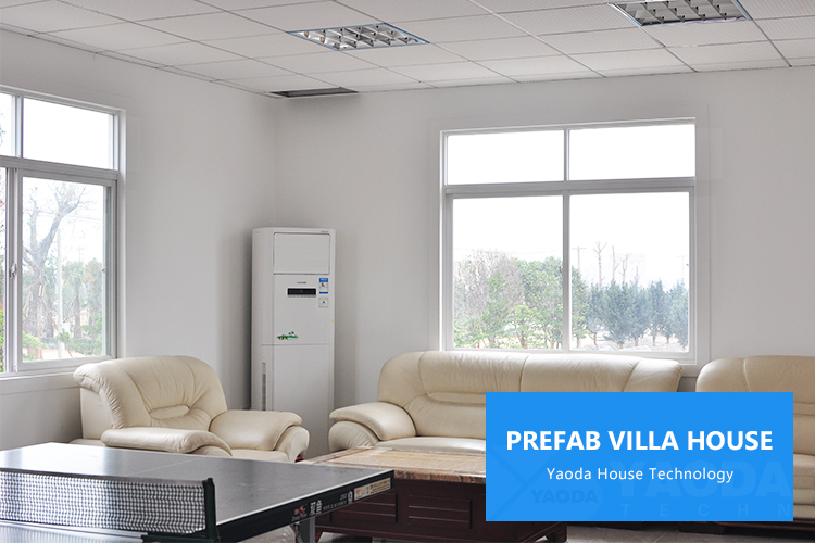 Smart House 3 Bedroom Prefab Home Villa Houses Prefabricated Homes Prefab Steel House Villa in Algeria