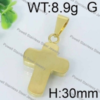 Modern stylish gold cross shape wholesale arrowhead pendant diamond