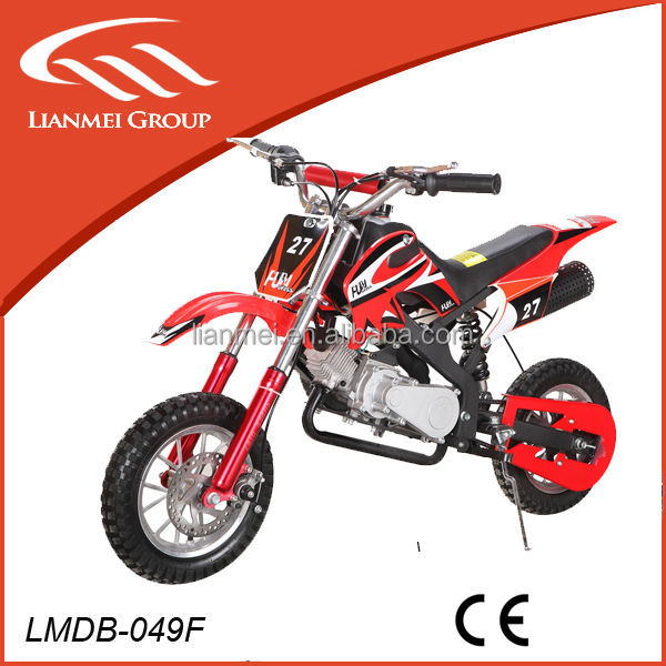 49cc mini dirt bike pit bike kick start from china