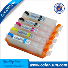 new arrive Refillable ink cartridge for Canon PGI-550/CLI-551 250/251 450/451 850/851 350/351 with ARC chip