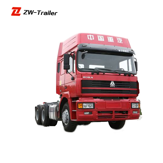 most popular head tractor truck/tow vehicle , HOWO 4X2 Drive Wheel Tractor Truck for Sale