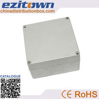 Factory price china's aluminum square cable junction box used in the ceiling light