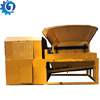 Waste furniture crusher machine smasher wood root machine tree root crusher with screen