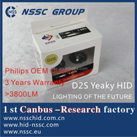 NSSC Yeaky 3800LM Philip OEM HID Motorcycle with 3 years warranty & Emark