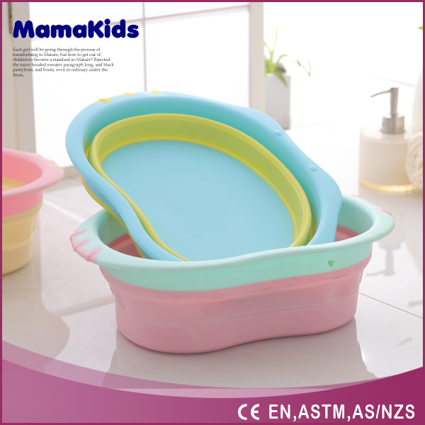 2017 Factory direct China Wholesale Best Selling Babies Product bath tubs and Baby Folding Bathtub