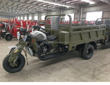 Five Wheels Heavy Loading Cargo Motorcycle Truck / High Quality 5-Wheeled Motorized Tricycle With Dumper Trailer