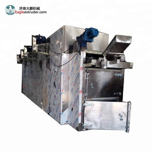 Jinan eagle industrial hot air steam pet dog food making dryer machine