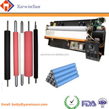 Vulcanized rubber roller for printing machine