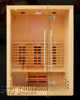 3 person Cryo Sauna Tourmaline Infrared Sauna Shower Cabin with Oxygen Ionizer (CE/ISO)