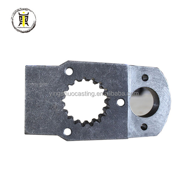 High precision and high finish iron casting bevel gear for Agricultural Machinery