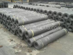 UHP Grade Graphite Electrode with respective nipples
