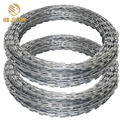 Hot Dip Galvanized Concertina Razor Barbed wire Coil