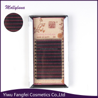 dark black eye lash/eyelashextension natural looking/sale manufacturer