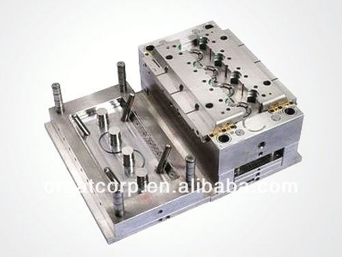 On time ship newly developed plastic turnover box mould