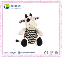 Cow knitted soft plush toy