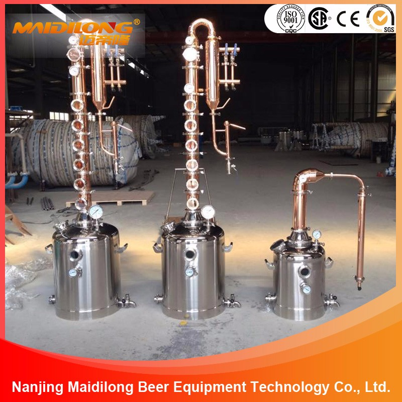 High Quality Customized Beer Alcohol Distiller for Brewery